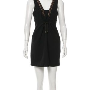Vena Cava sexy beaded little black dress